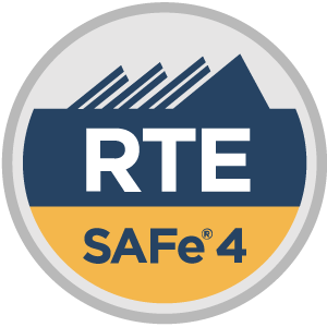 SAFe® 4 Release Train Engineer (RTE4) Badge